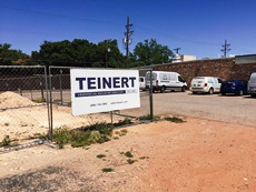 Photo of Teinert Commercial Building sign