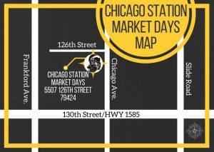 Chicago Station Market Map